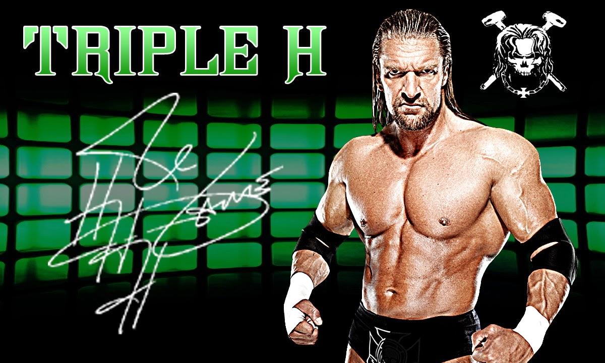 Triple H Wallpaper 2014