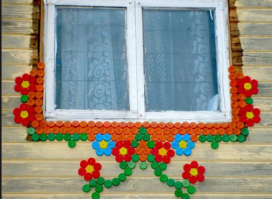 Декор пластиковых окон своими руками