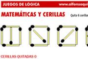 Matemáticas y Cerillas