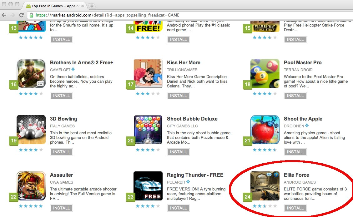free android market games