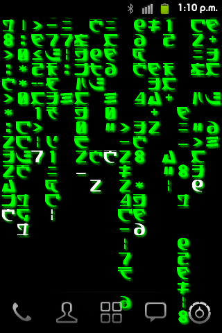 The Matrix Live Wallpaper