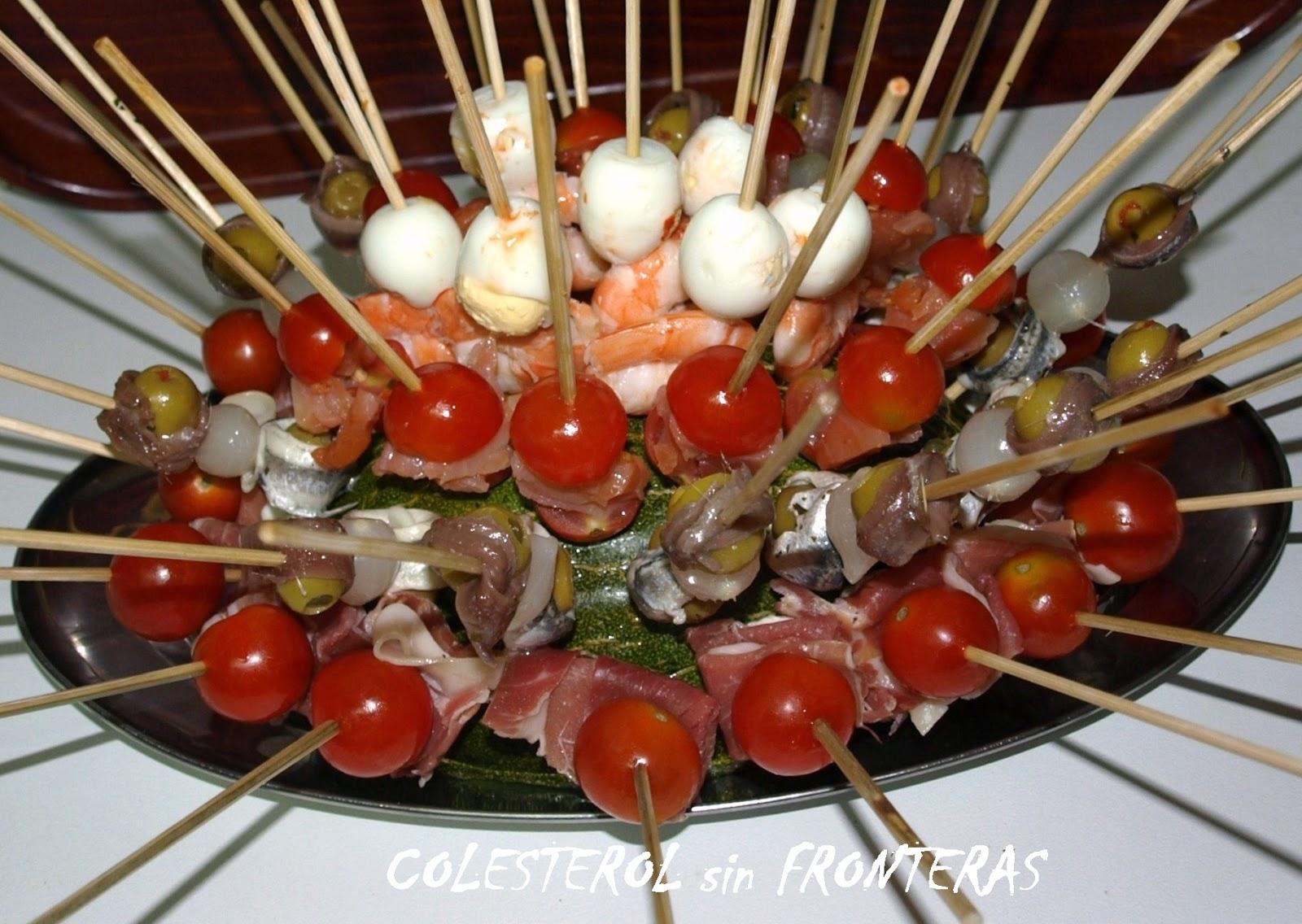 colesterol sin fronteras ideas para una cena fria