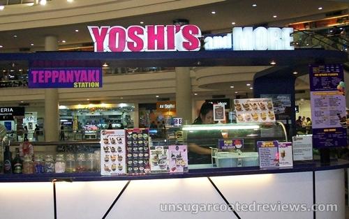 Yoshi's Teppanyaki Ice Cream and More in Robinson's Ermita