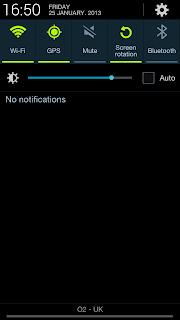 tasti impostazioni veloci su Android