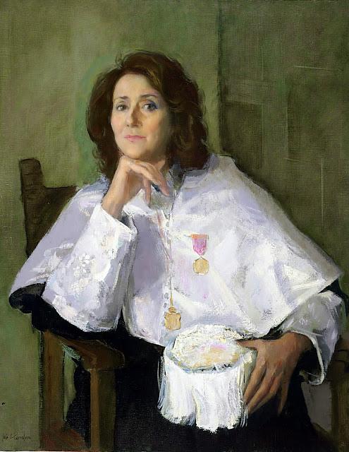 José Sánchez Carralero, Maestros españoles del Retrato, José Sánchez Carralero (León, 1950 - ?)
