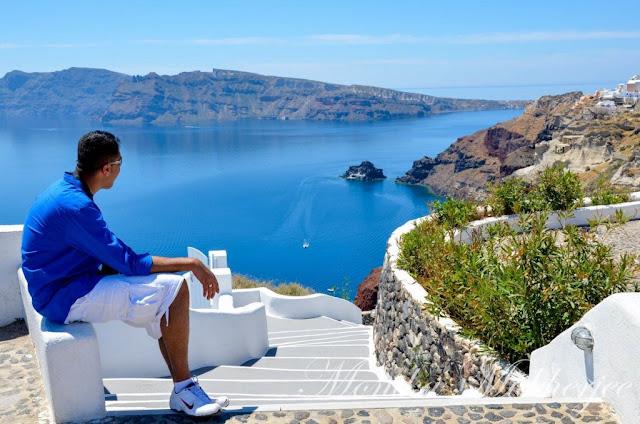 Hike from Fira to Oia in Santorini Greece by Monika Mukherjee