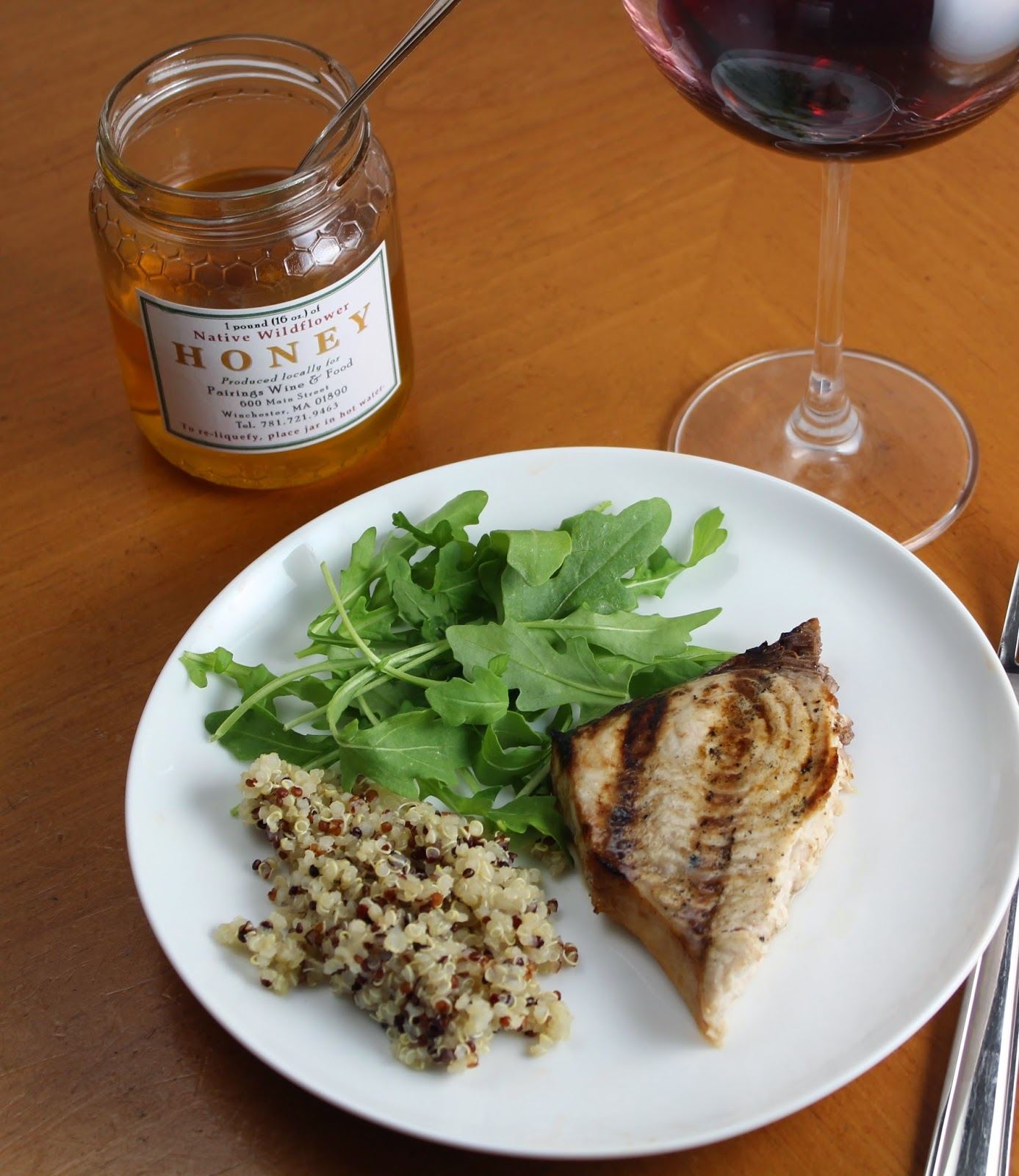 Grilled Swordfish with Garlic Soy Marinade
