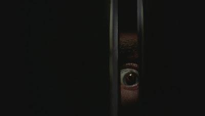 Black Christmas killer's eye