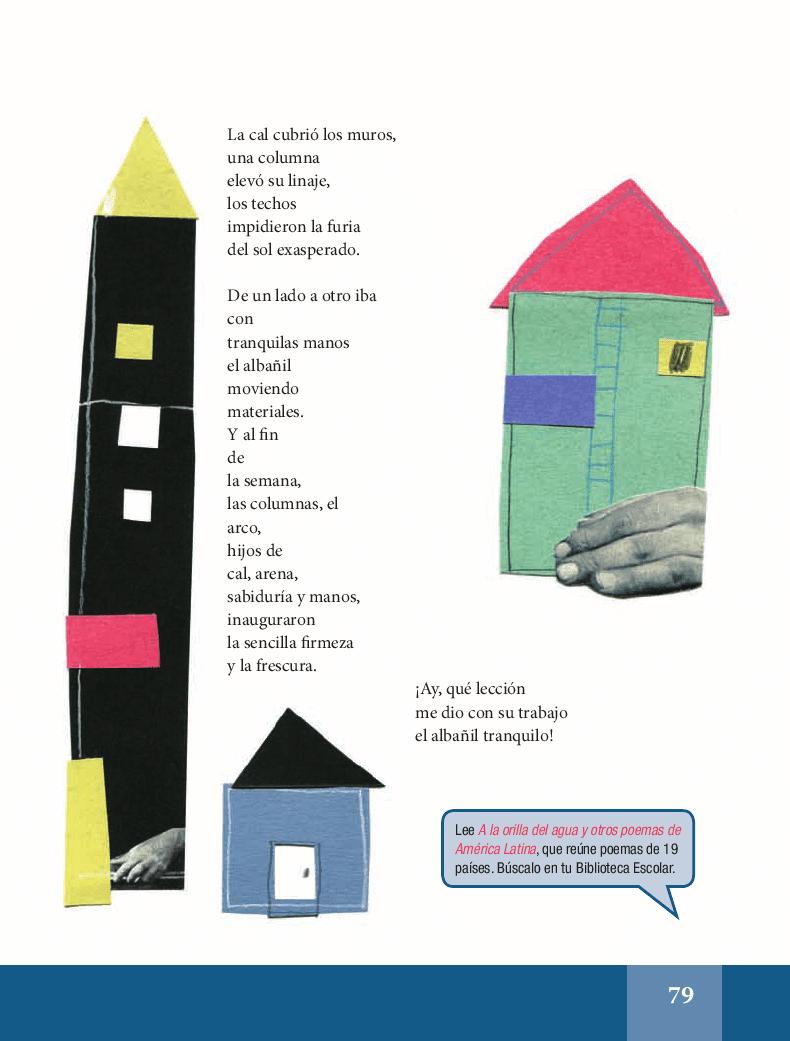 Oda al albañil tranquilo - Español Lecturas 5to 2014-2015