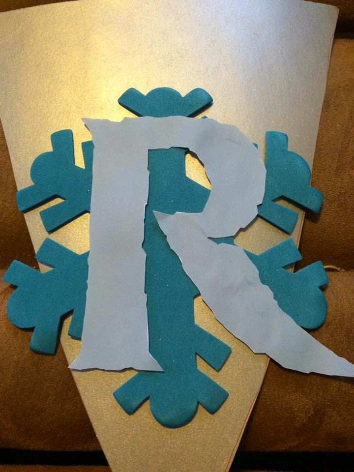 My Life With Evie And William Easy Diy Frozen Birthday Banner