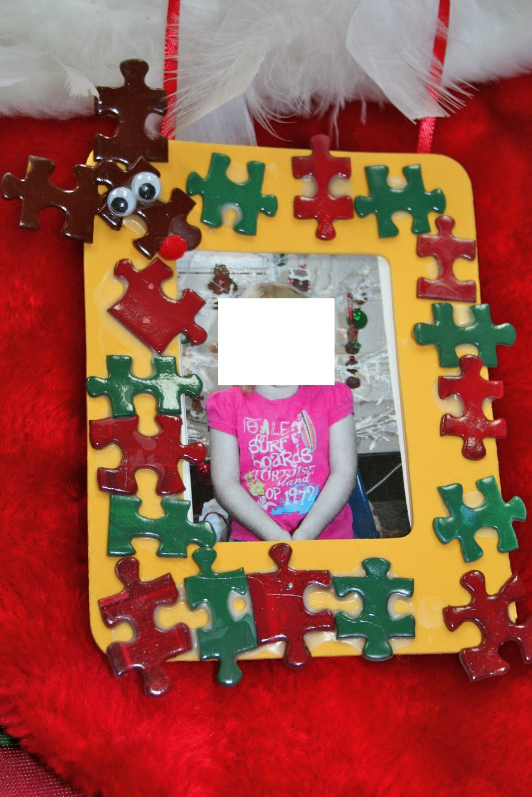 Exelent Puzzle Piece Picture Frame Craft Gallery - Framed Art Ideas ...