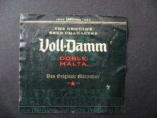 marca de cerveza voll-damm de Cervezas Damm