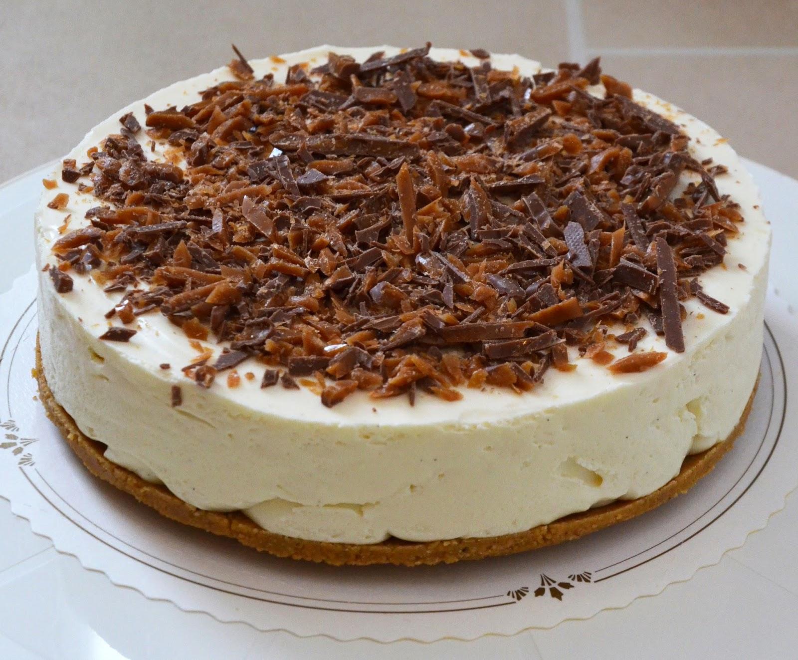 chokladcheesecake med digestive
