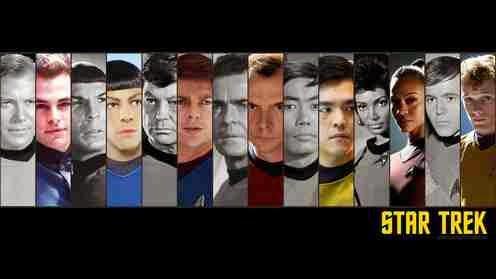 El antes y el ahora de la Star Trek de siempre