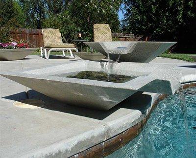 Dom nguez arquitectos paisajismo y jardines minimalistas - Fuentes para jardin exterior ...