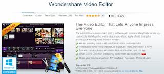 Video Editor by WonderShare