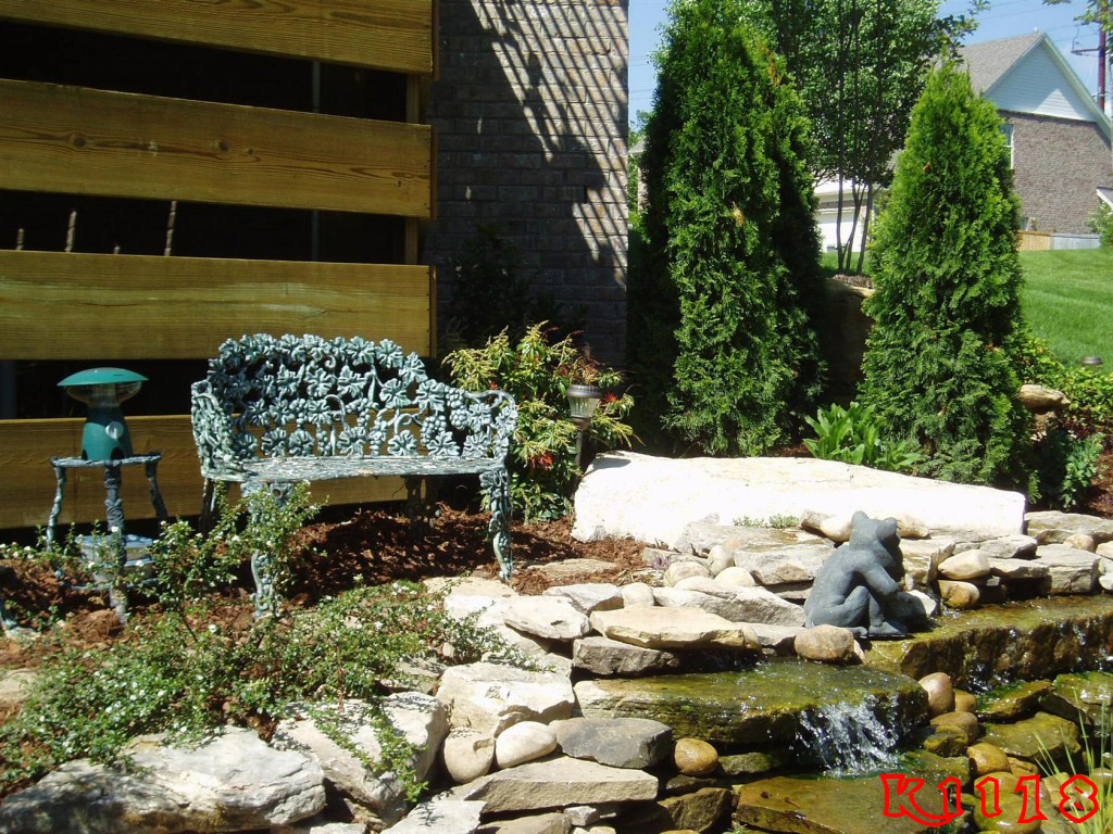Diy garden pond landscaping ideas 2017 2018 best cars for Rock landscaping ideas