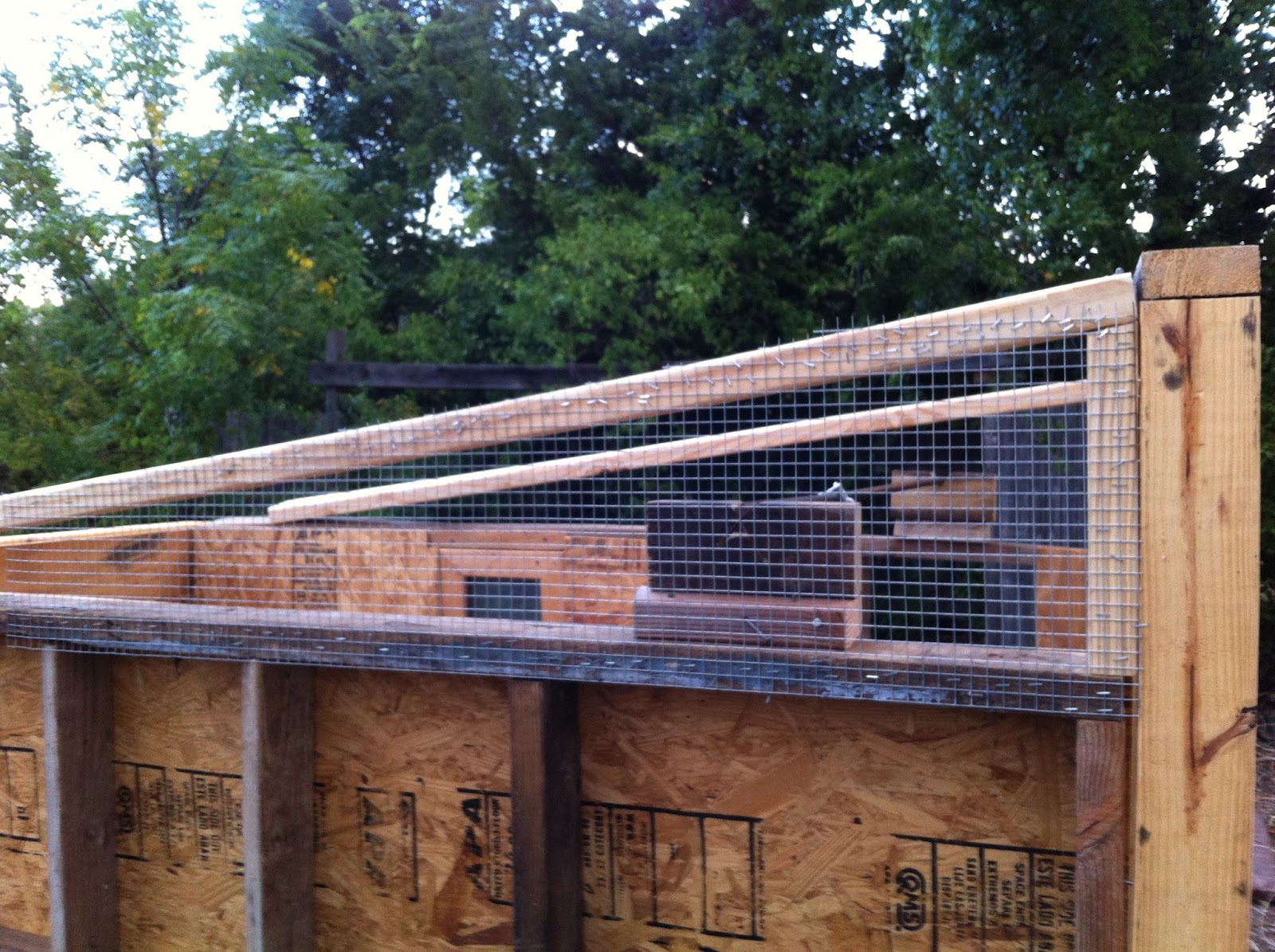 Ventilation For Chicken Houses : Making home our cheap blueprint less diy chicken coop