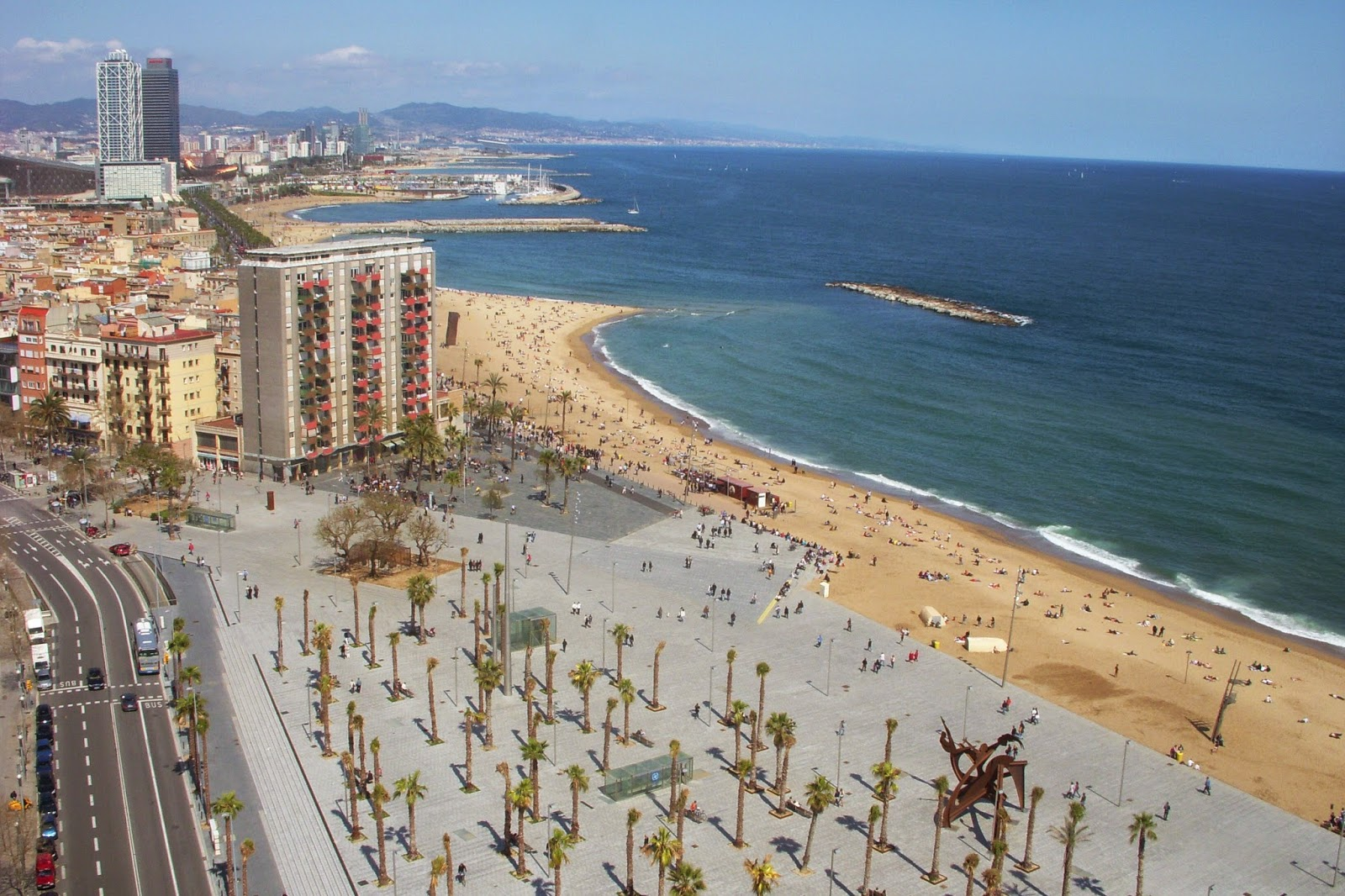 Holidays in Barcelona, beaches