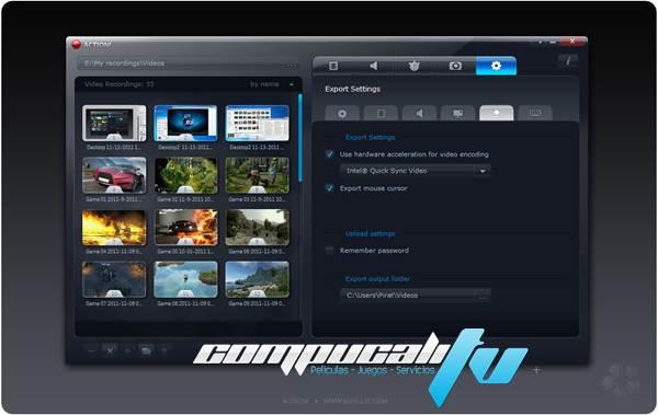 Mirillis Action 1.31.2 Español Full Final Grabar Juegos en HD