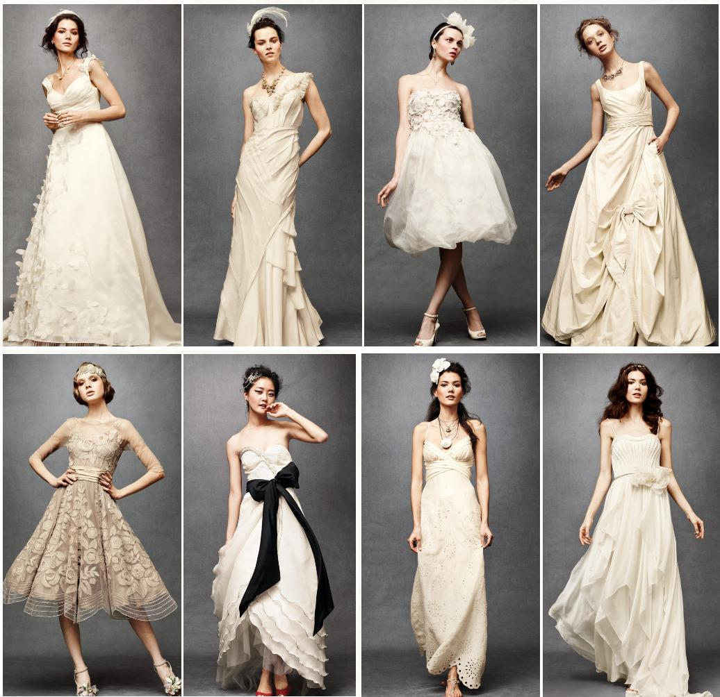 Yarah Designs: Anthropologie Goes Bridal