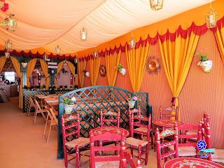 Feria de Sevilla 2013 - Interior de caseta particular 01