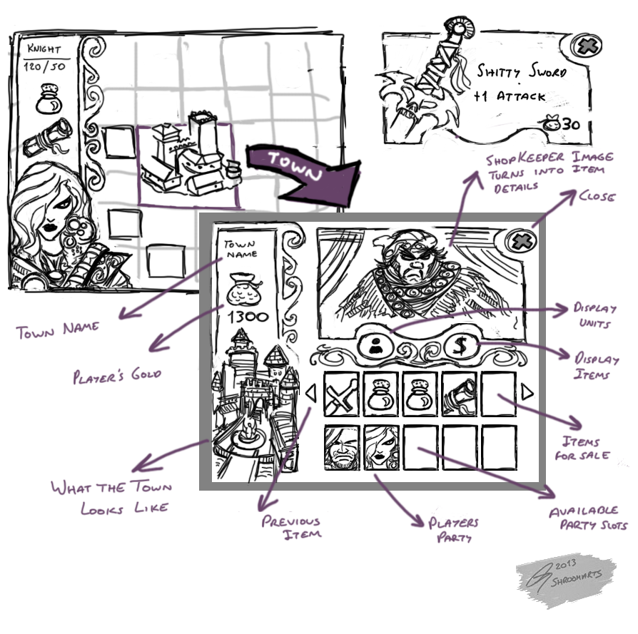 Town Screen Concepts
