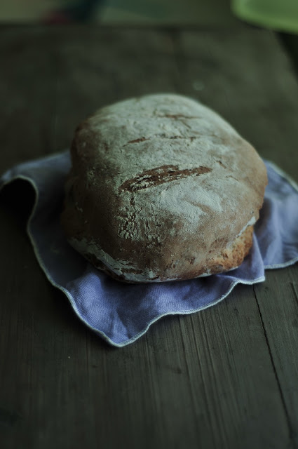 chleb z lawendą