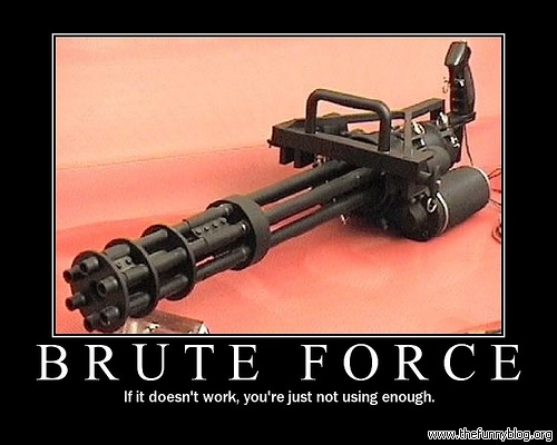 Funny Image Collection: Download funny Army pictures! Minigun Bullet Wound