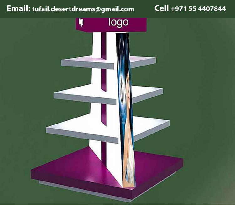 Creative Display Stands Uae Wooden Stands Uae
