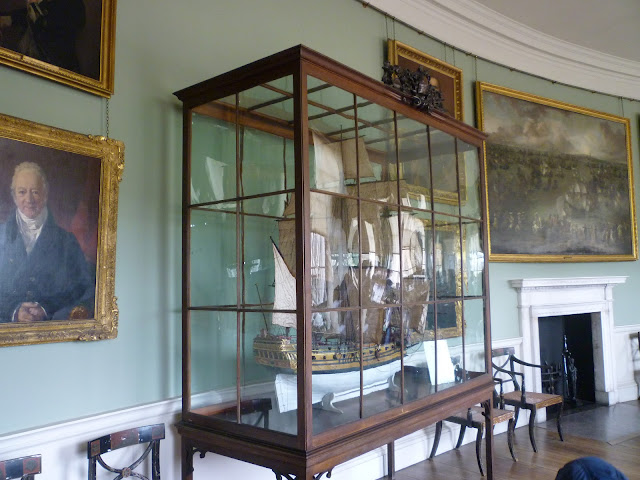 kedleston hall georgian interior neo-classical ship via lovebirds vintage
