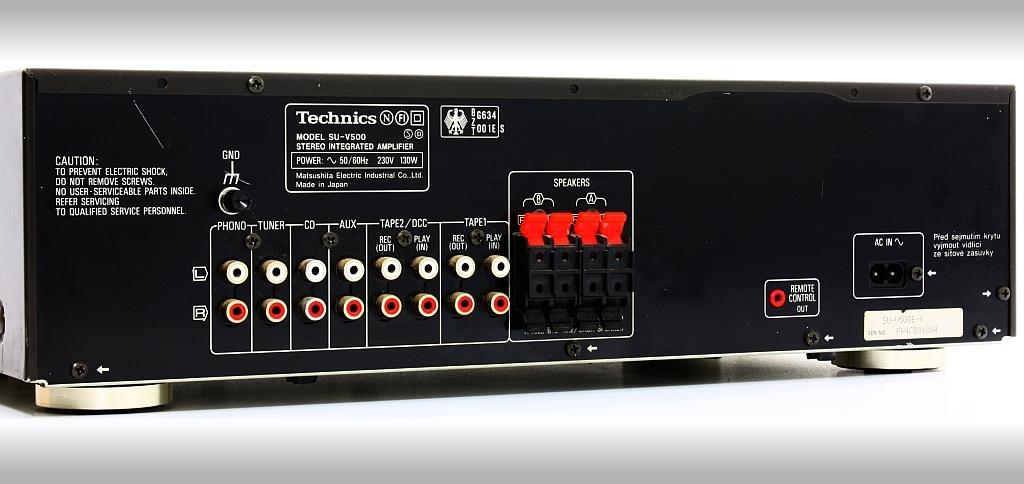 TECHNICS SU-V500 - Integrated Amplifier   AudioBaza