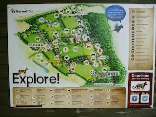 map Marwell Zoo
