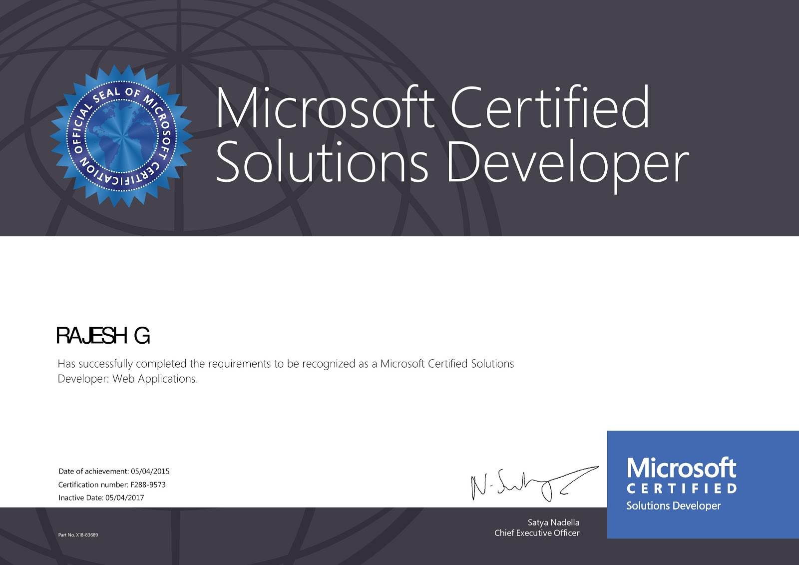 Dotnet Developer Blog Mcsd Web Application Certification