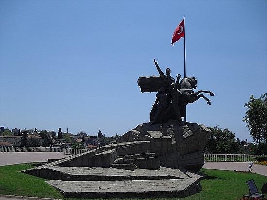 Antalya - Ataturk Monument, Turkey  Travel Wallpapers