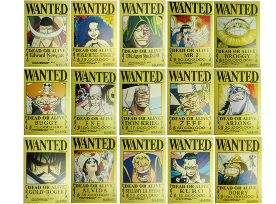 One Piece 15 Wanted by dq 000
