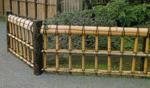 Gambar Pagar Bambu Minimalis