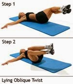 Image result for Lying Oblique Twist