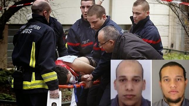 Terror en Francia: Se entrega uno de los sospechoso y la policía divulga fotos de los otros dos