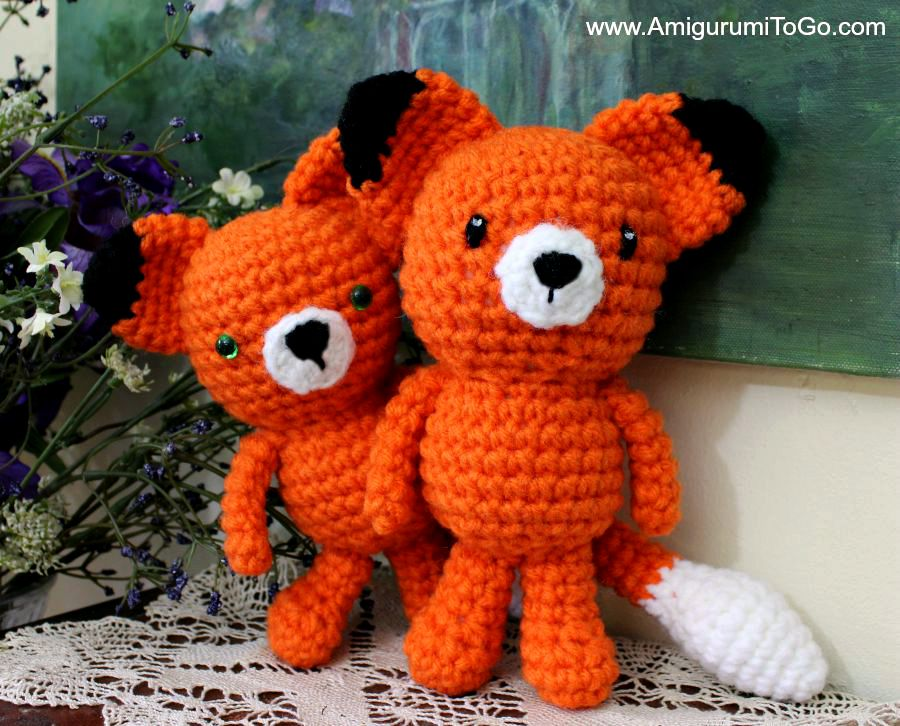 Amigurumi Strawberry Girl Free Pattern : Wee Fox Free Pattern ~ Amigurumi To Go