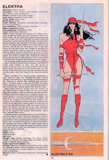 Elektra (ficha marvel comics)