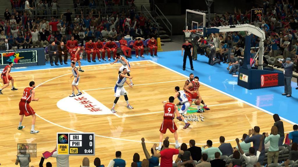 FIBA 2K14 Asia Mod