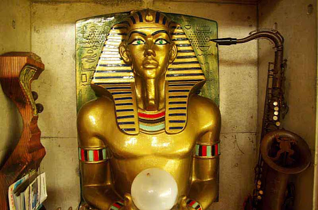 pharaoh statue,antiques,