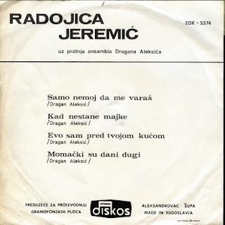 Radojica Jeremić - Samo Nemoj Da Me Varaš