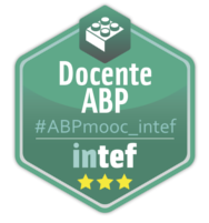 "Emblema Inteef ""Docente ABP"""