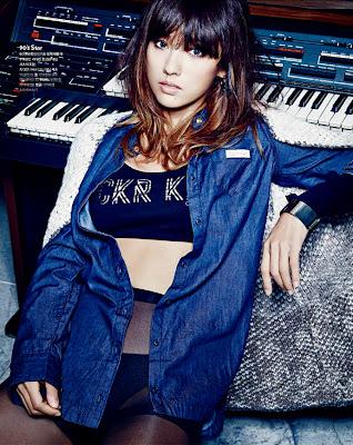 Lee Hyori - Cosmopolitan Magazine November Issue 2013
