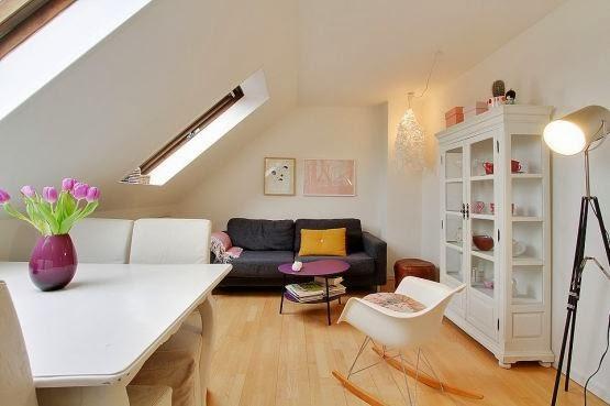 Amenajarea unei mansarde de doar 43 m²