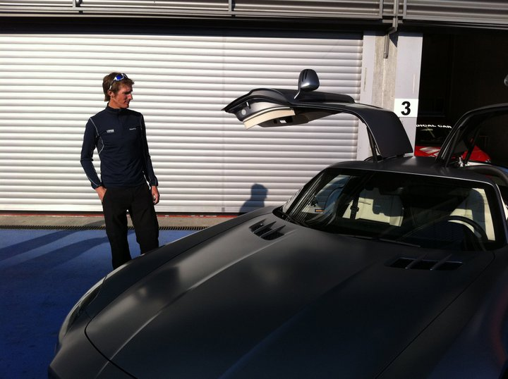 photo of Andy Schleck  - car