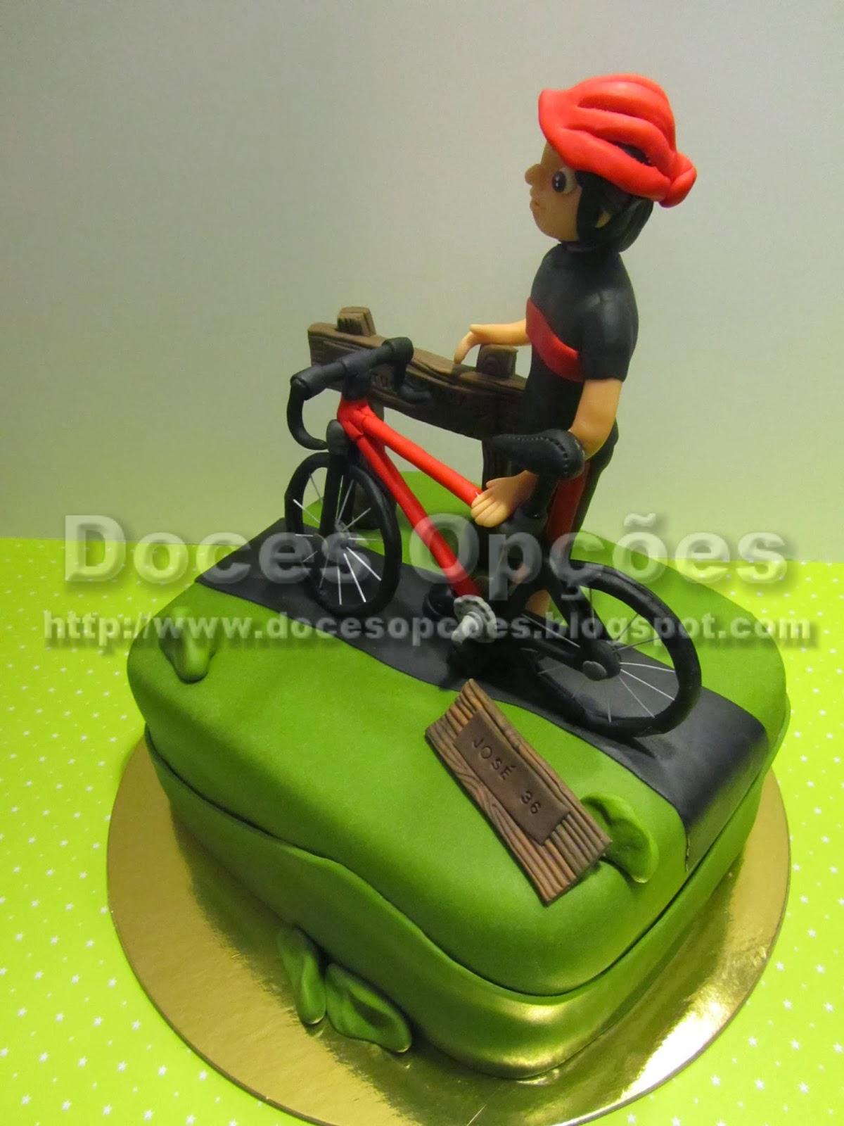 bolos decorados ciclismo btt