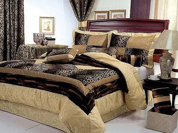 Bedrooms Are Always Best Place To Give Animal Print A Must Try It